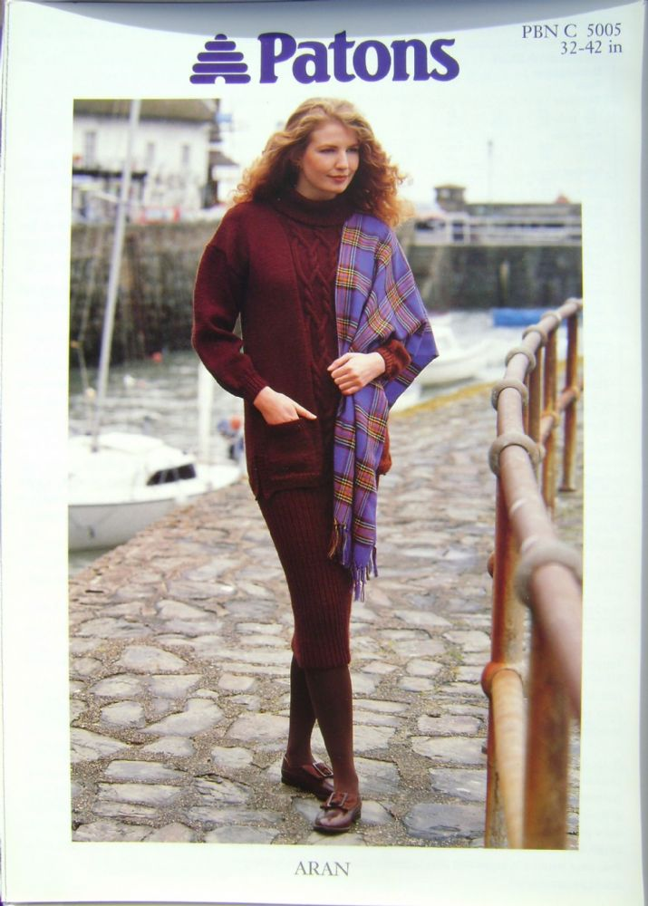 Patons Knitting Pattern 5005